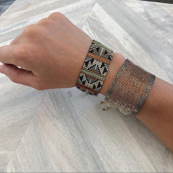 design de qualité 6ef42 ee8ff Mishky Beaded tribal bracelet